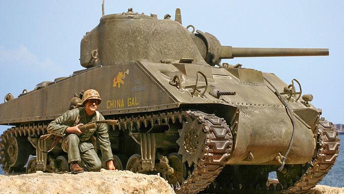 Zaloga Steven. Танк M-4A2.
