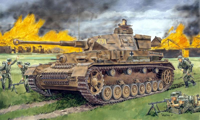 Volstad Ronald. Танк Pz.Kpfw.IV Ausf.F2(G).