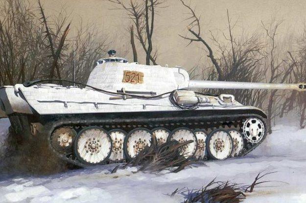 Wrobel Jaroslaw. Танк Panther Ausf G.
