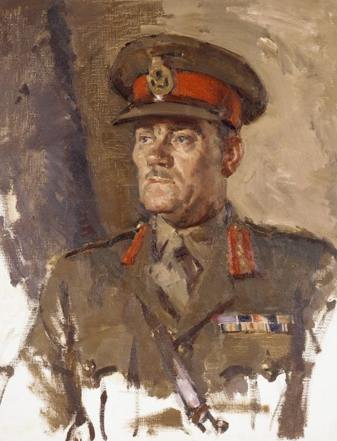 Hele Ivor. Генерал-лейтенант John Northcott.