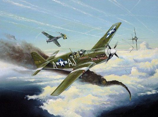 Wilson Randall. Истребитель Mustang P51-D.