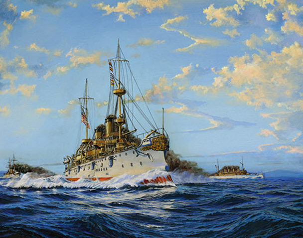 Flood James. Бронепалубный крейсер «Olympia».