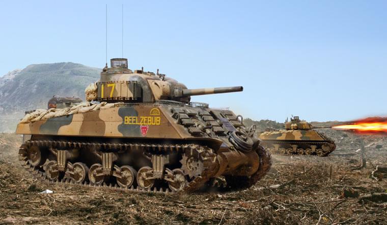 Zaloga Steven. Танк M-4A3.