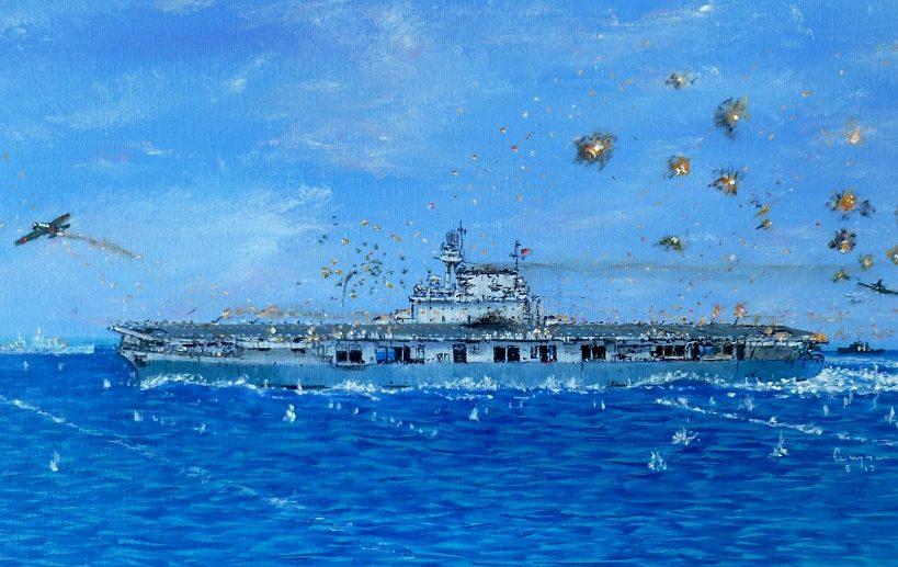 Scarpaci Wayne. Авианосец «Yorktown».