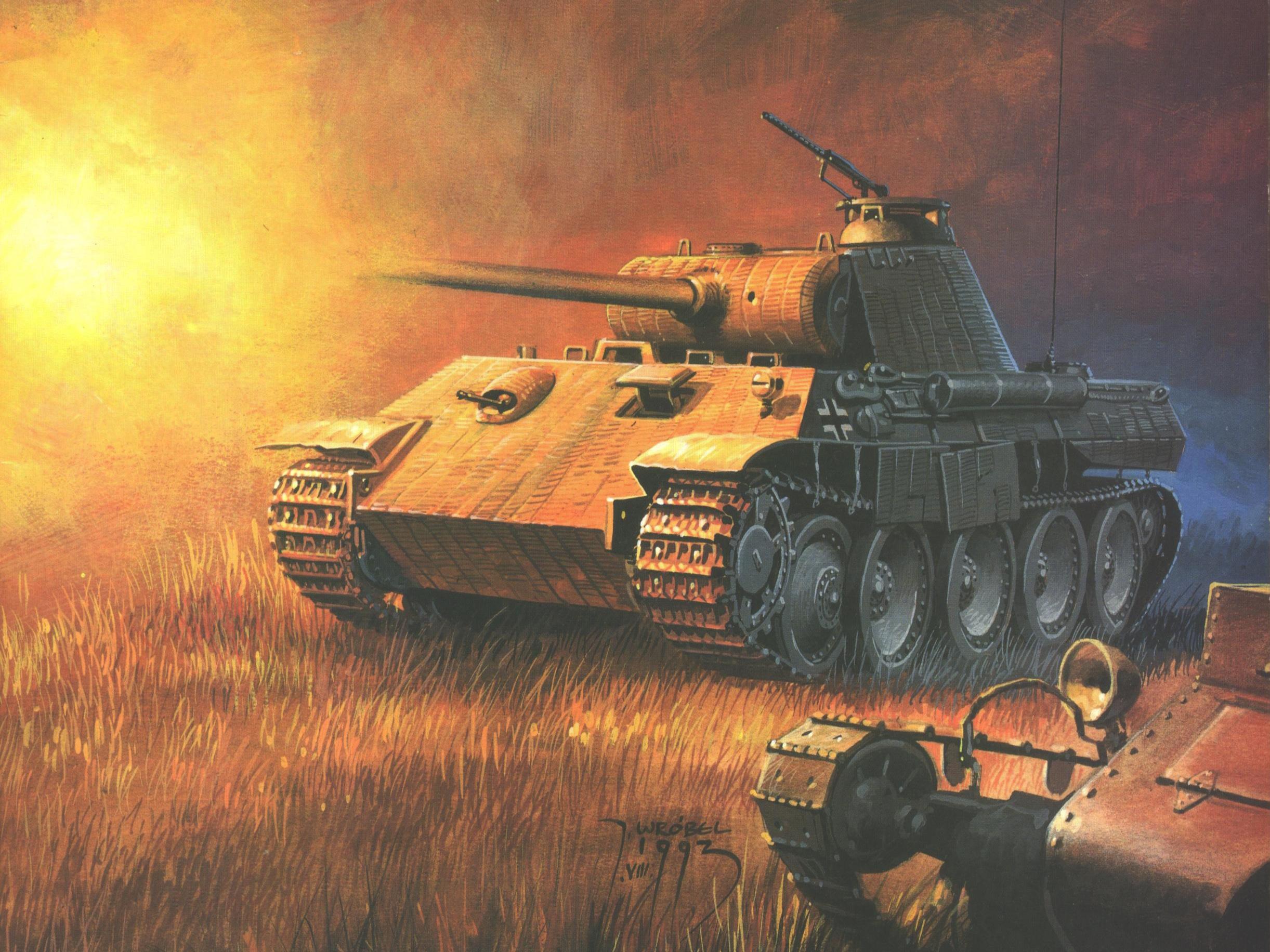 Wrobel Jaroslaw. Танк Pz.Kpfw. V.