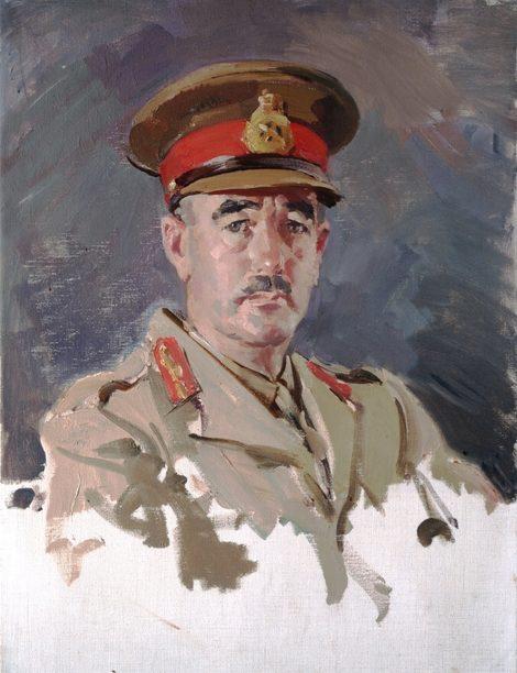 Hele Ivor. Генерал-майор Leslie Morshead.