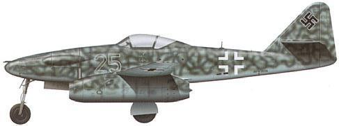 Tullis Tom. Истребитель Me-262-1a/U3.