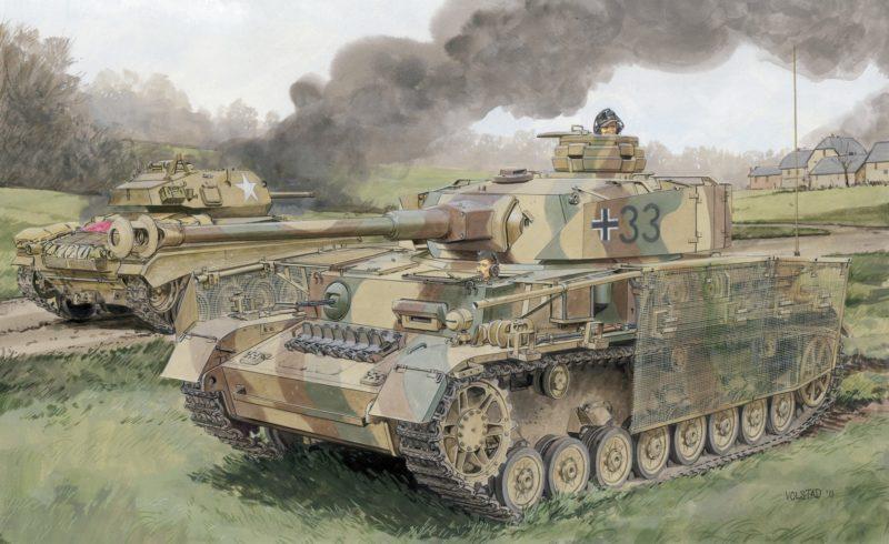 Volstad Ronald. Танк Pz.Kpfw. IV Ausf. J.