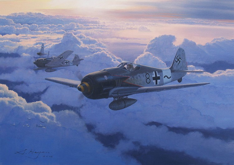 Heyen Steven. Истребители Fw-190.