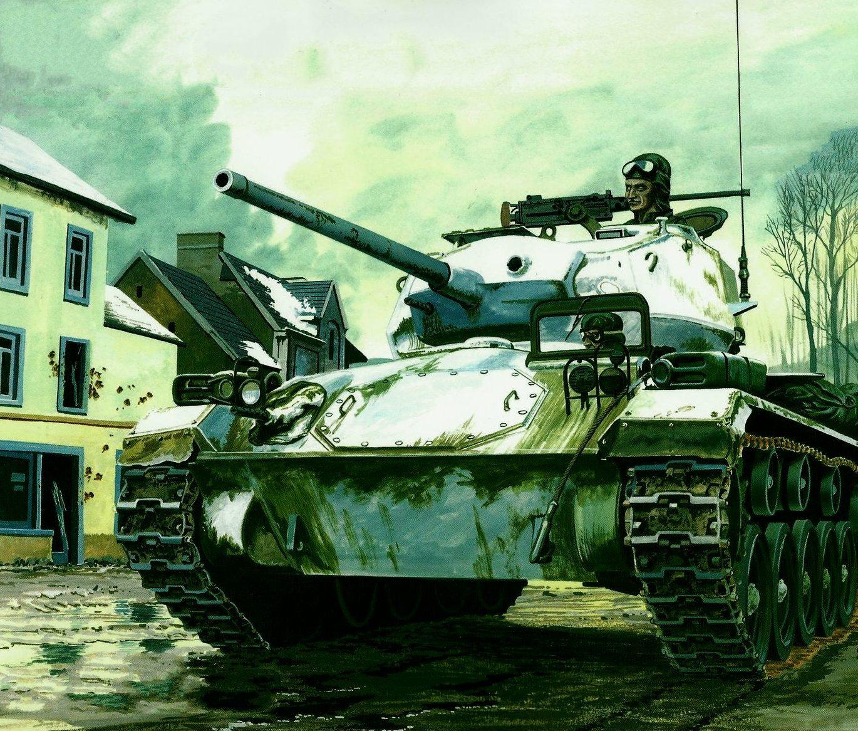 Greer Don. Танк M-24 Chaffee.