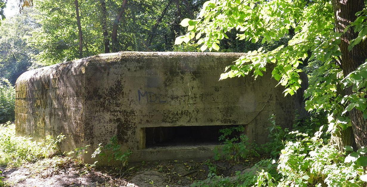 с. Горенка Киево-Святошинского р-на. ДОТ №481 Киевского укрепрайона, построенный в 1929-1932 годах.
