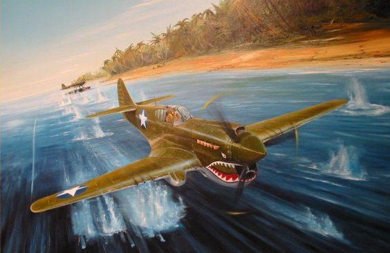 Wilson Randall. Истребитель Р-40.