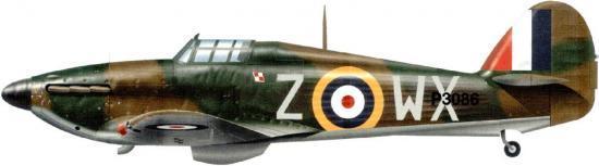 Tullis Tom. Истребитель Hawker huricane Mk.I.