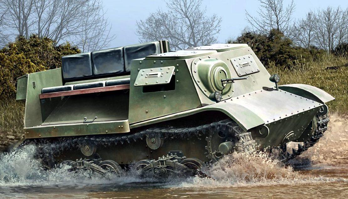 Auletta Vincenzo. Артиллерийский тягач Т-20 (Комсомолец).