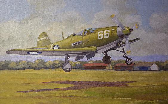 McLeod Murray. Истребитель Airacobra.