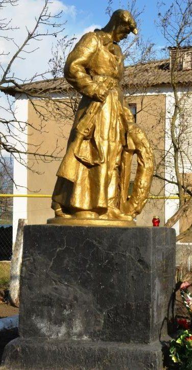 с. Гидерим Подольского р-на. Памятник погибшим воинам.