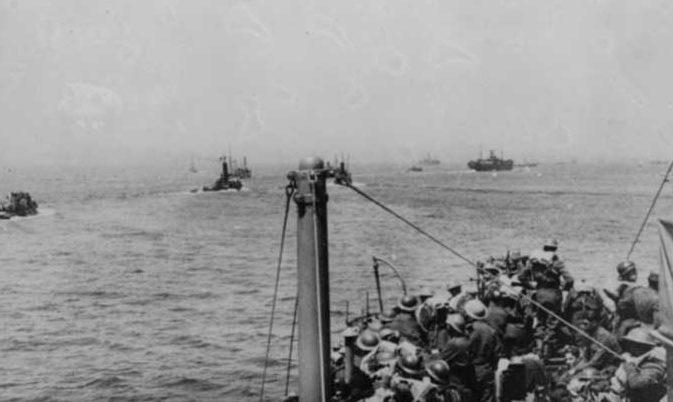 Путь домой. 29 мая 1940 г.