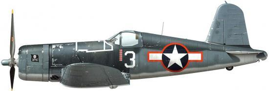 Tullis Tom. Истребитель Chance Vought F4U-1A Corsair.