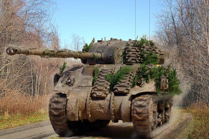 Zaloga Steven. Танк Sherman Firelfy Mk.VC.