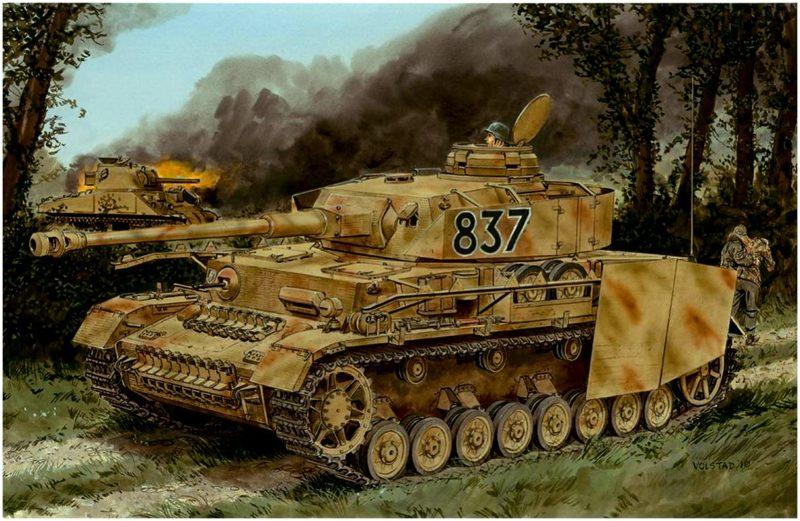 Volstad Ronald. Танк Pz.Kpfw. IV Ausf. Н.
