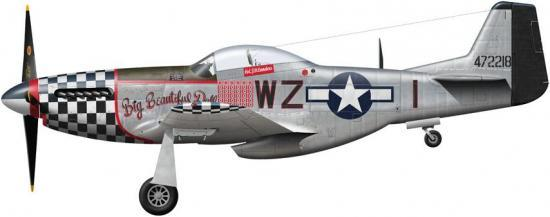 Tullis Tom. Истребитель P-51D Mustang.