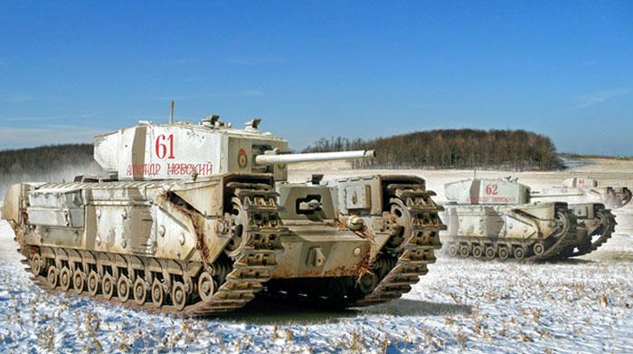 Zaloga Steven. Танки Churchill Mk.III.