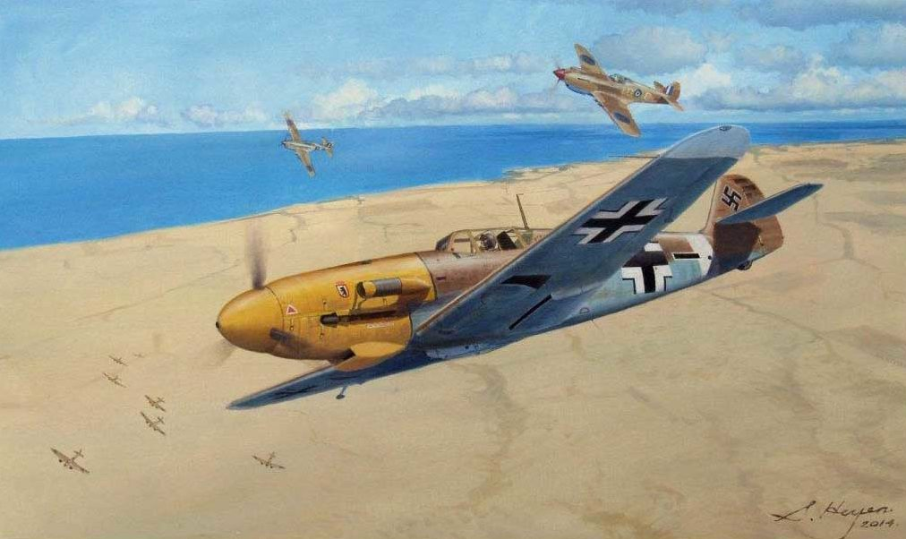 Heyen Steven. Истребитель Me-109.