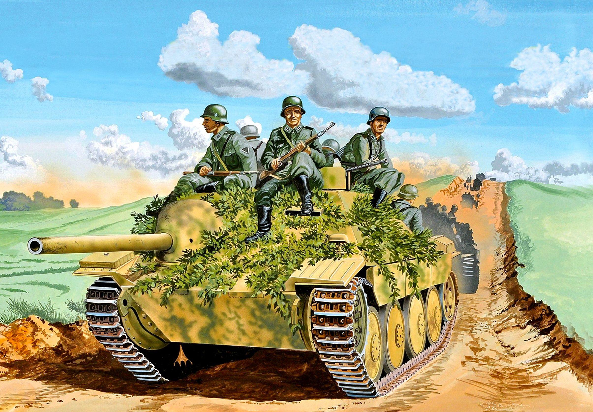 Greer Don. САУ Jagdpanzer 38 Hetzer.