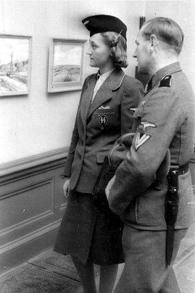 Женщины-служащие вспомогательной службы СС.