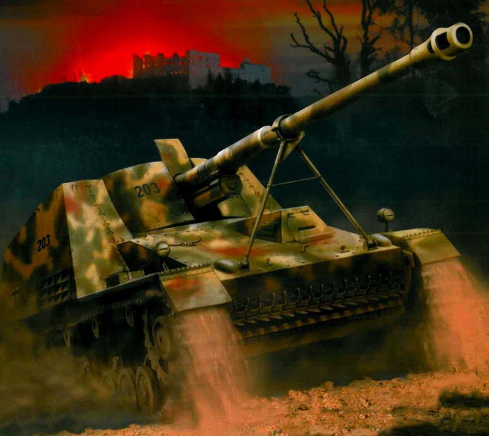 Wróbel Arkadiusz. САУ Pak 43 L/71 88mm Sd.Kfz. 164.
