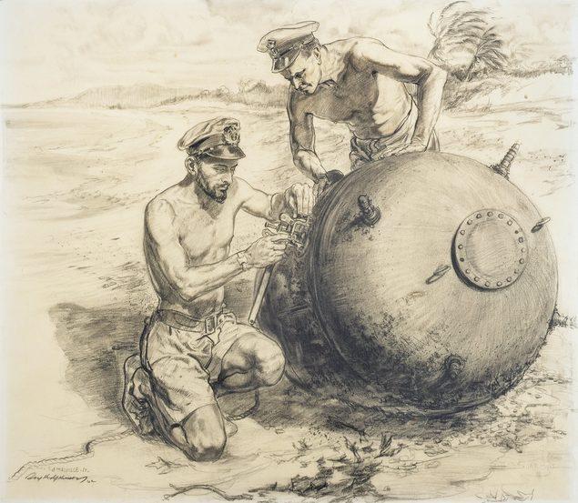 Hodgkinson Roy. Обезвреживание мины.