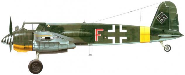 Tullis Tom. Бомбардировщик Hs-129 B-2.