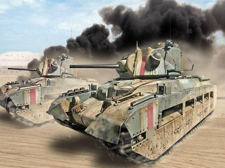 Zaloga Steven. Танки Matilda Mk.III/IV.