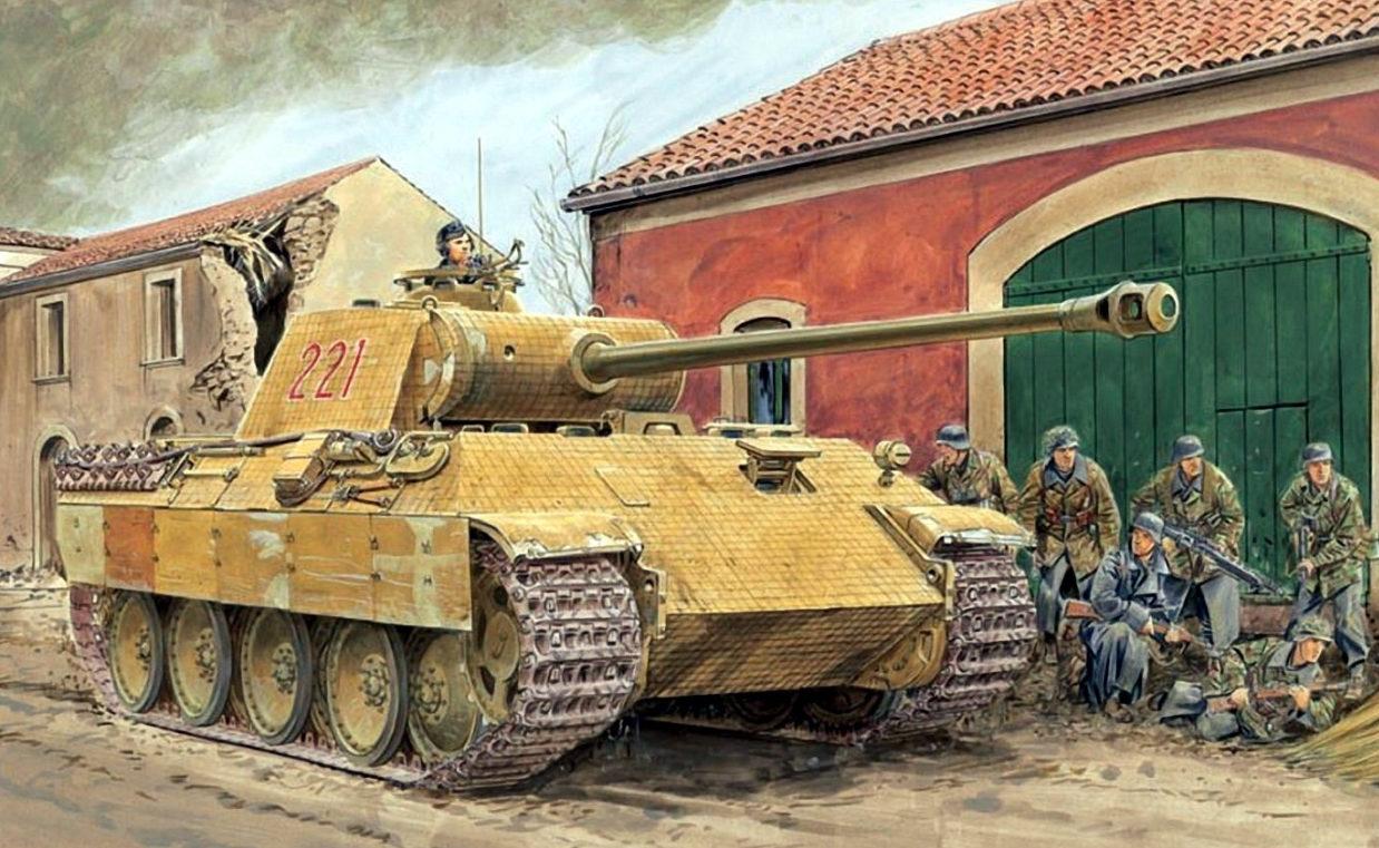 Volstad Ronald. Танк Pz.Kpfw. V Ausf. А (Panther).