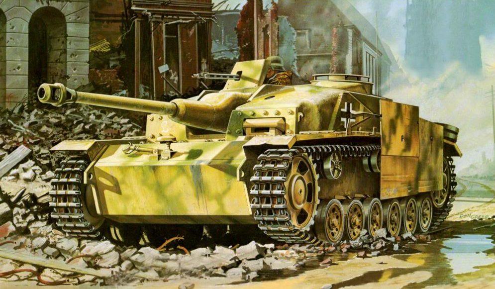 Greer Don. САУ StuG III Ausf. G.