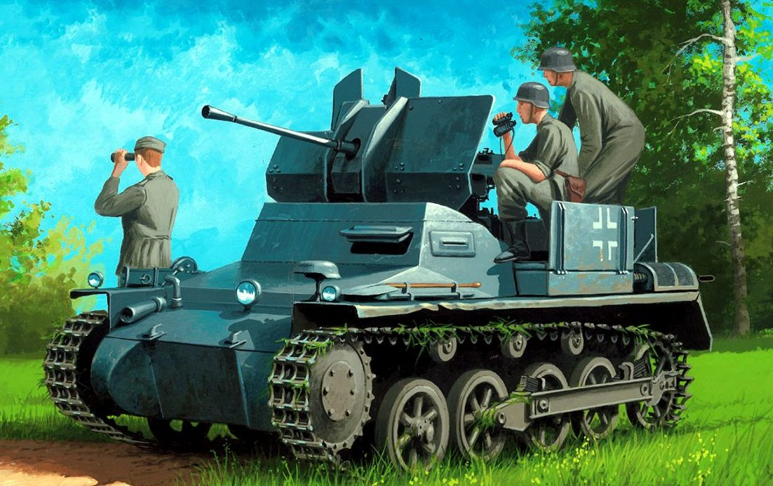 Wróbel Arkadiusz. ЗСУ Flakpanzer IA.