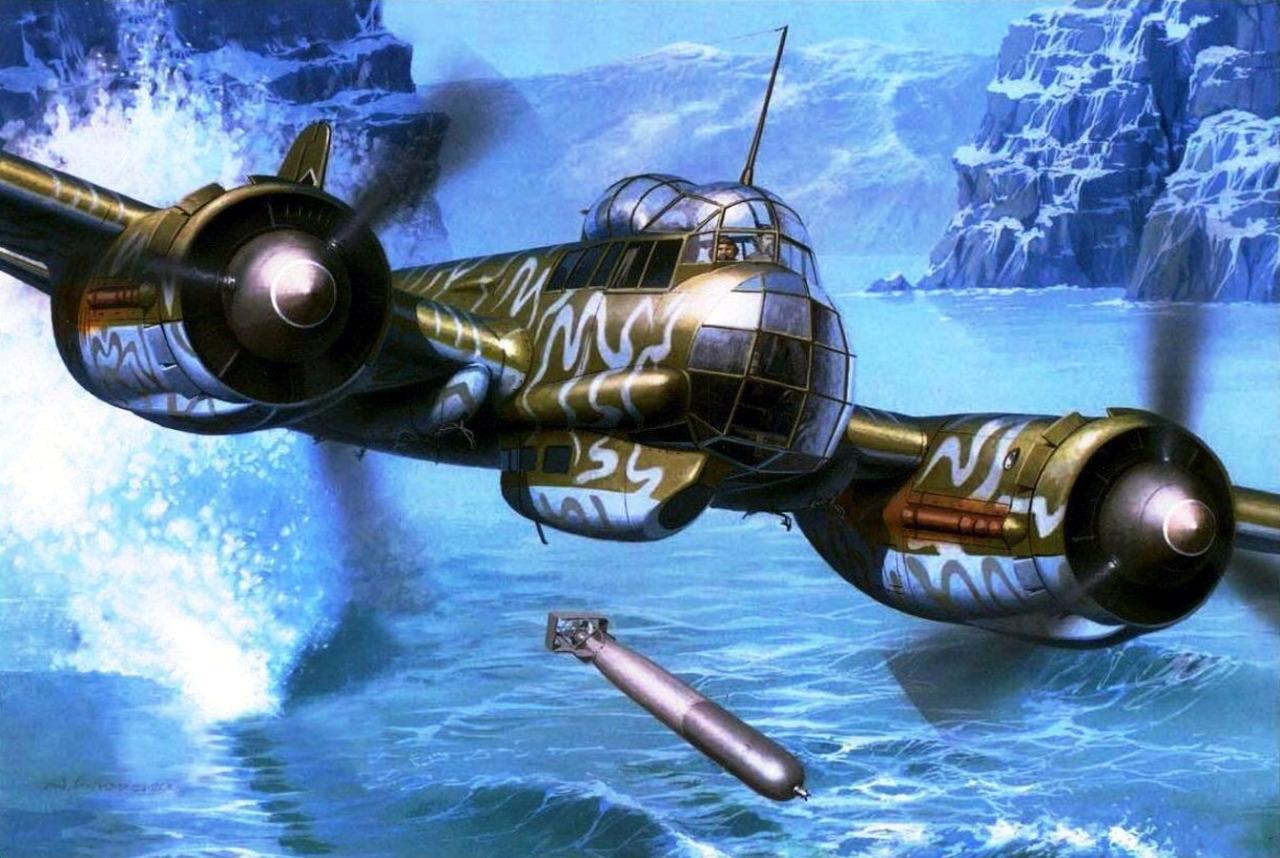 Wrobel Jaroslaw. Торпедоносец Junkers 88.
