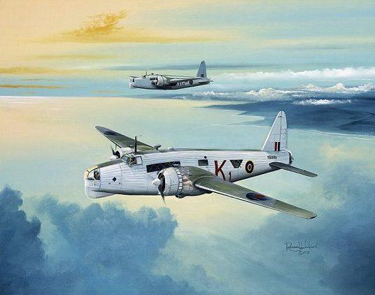 Wilson Randall. Бомбардировщик Vickers Wellington.