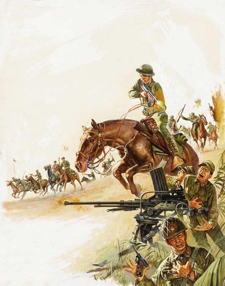 Gogos Basil. Атака кавалерии.