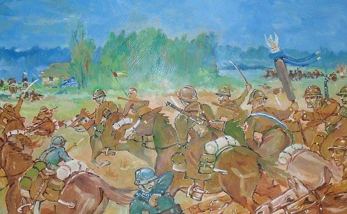 Gożdzik Krzysztof. Атака кавалерии.