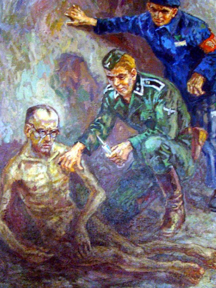 Koscielniak Mieczyslaw. Фельдшер в лагере.