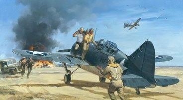 Grinell Roy. Атака на аэродром.