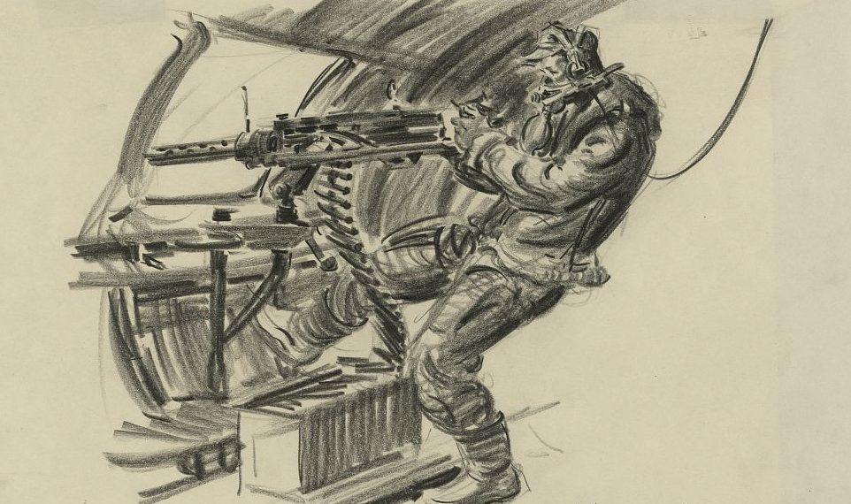 Brodie Howard. Воздушные стрелки В-17.