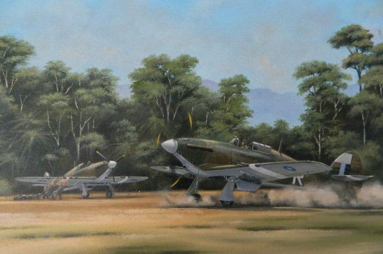 Jones John. Истребители Hawker Hurricane.
