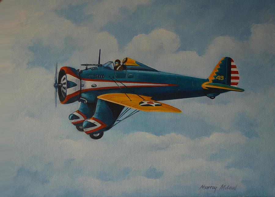 McLeod Murray. Истребитель Boeing Р-26.