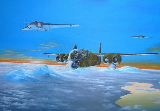 Wilson Randall. Реактивный бомбардировщик Arado Ar-234.