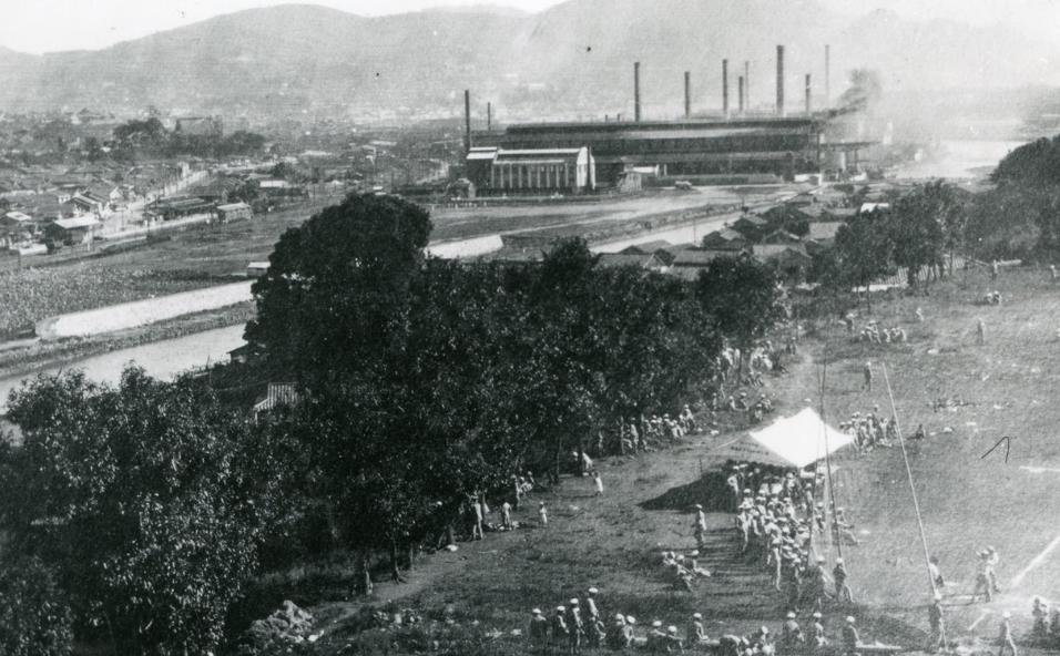 Центр города Нагасаки. 1945 г.