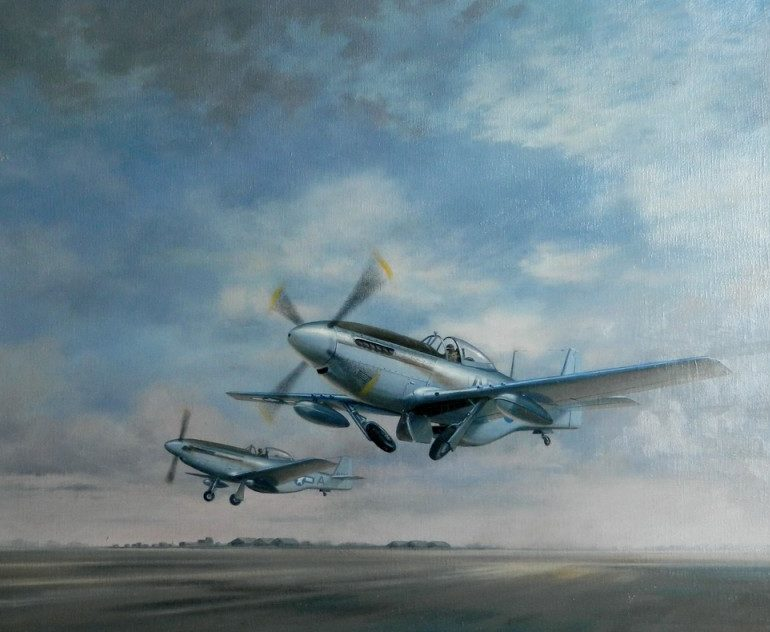 Jones John. Многоцелевой самолет Mustang.