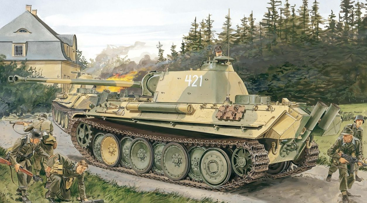 Volstad Ronald. Танк Pz.Kpfw. V Ausf. G.