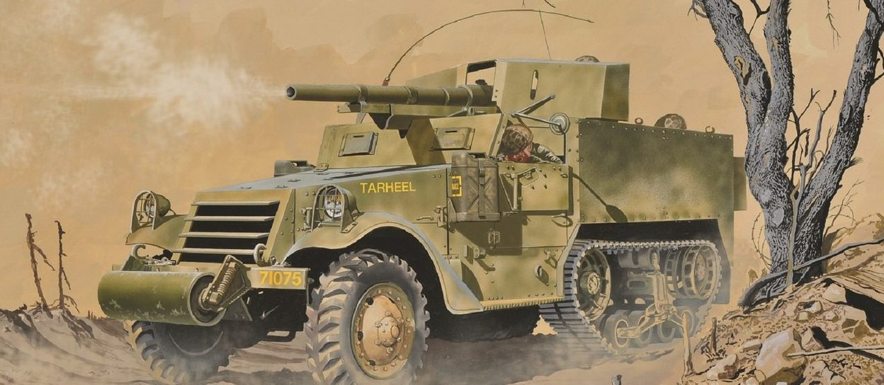 Greer Don. САУ М-3.